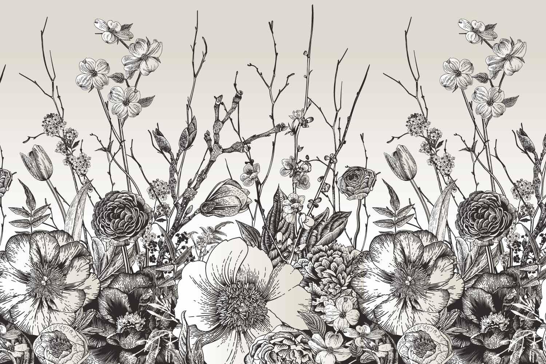 Collection de papier peint Multilés BOTANIK – Réf. BQ6860 par LGD01