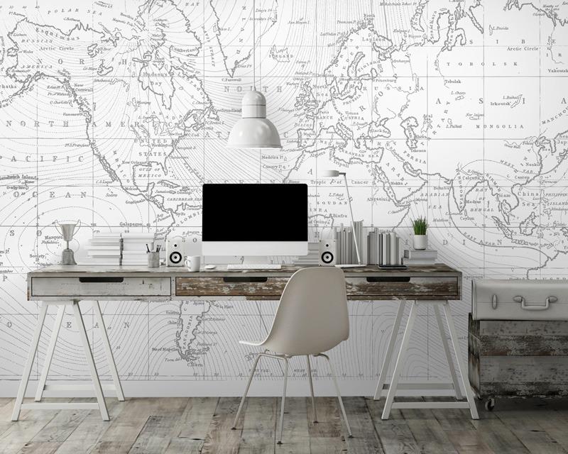 papier peint sur mesure pour locaux professionnels et bureaux. Black Bedroom Furniture Sets. Home Design Ideas