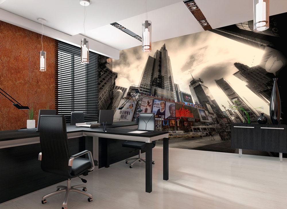 Papier peint sur mesure pour locaux professionnels et bureaux