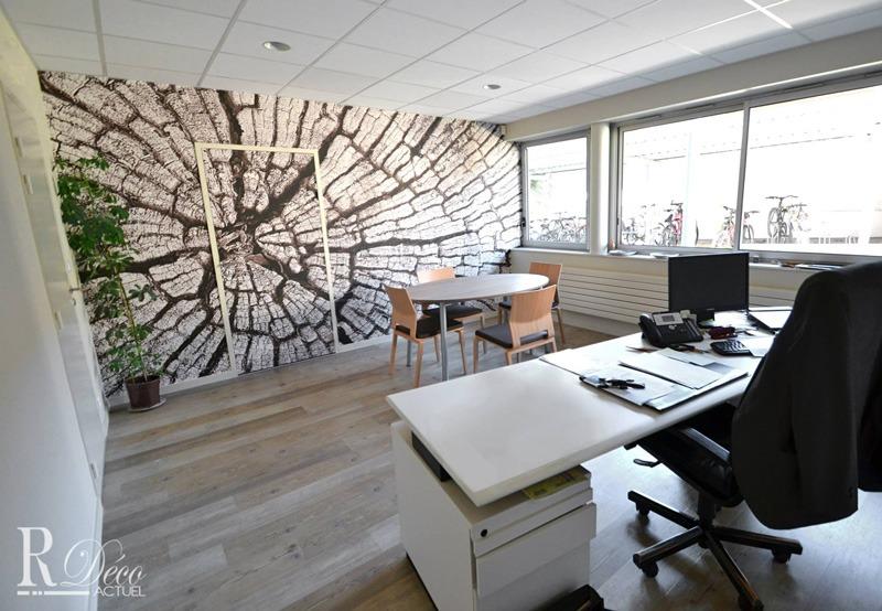 Papier peint sur mesure LGD01 R déco actuel / décor bureau