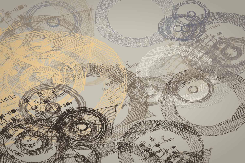 Collection de papier peint Multilés CIRCULUS – Réf. CR3790 par LGD01