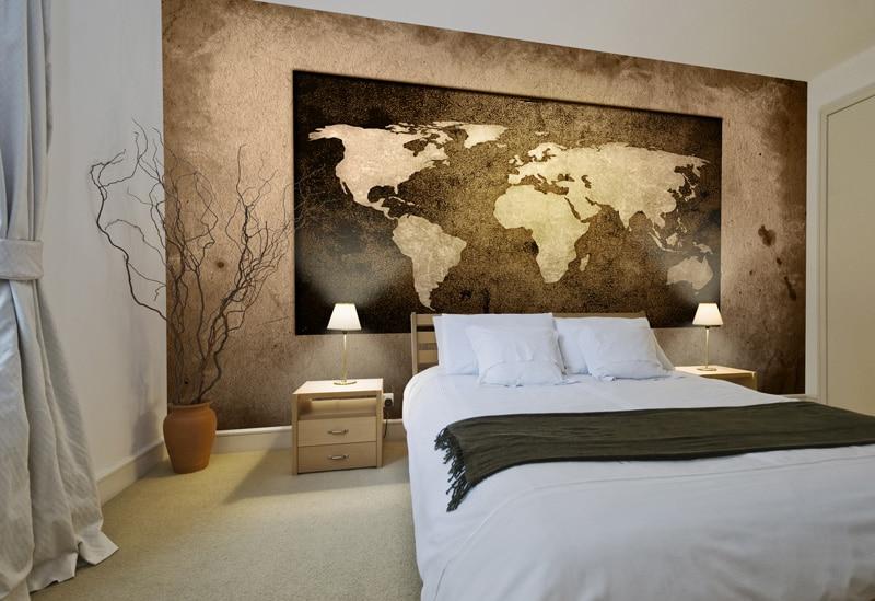 Papier peint sur mesure pour l 39 h tellerie et les chambres for Numero de chambre hotel