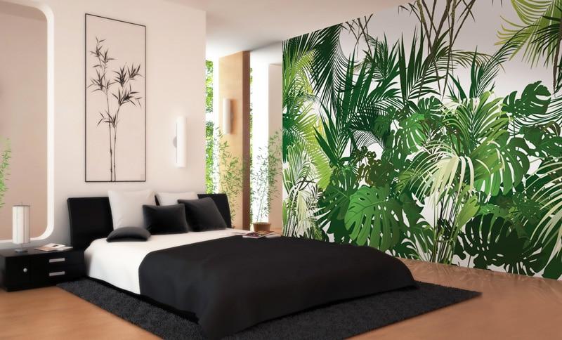 Papier peint sur mesure LGD01 Collection MultiLés / Panoramique 6 lés / JUNGLE