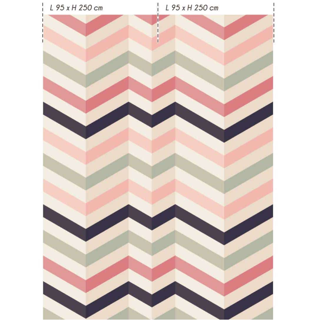 Collection de papier peint Multilés DL-CHEVRON par LGD01
