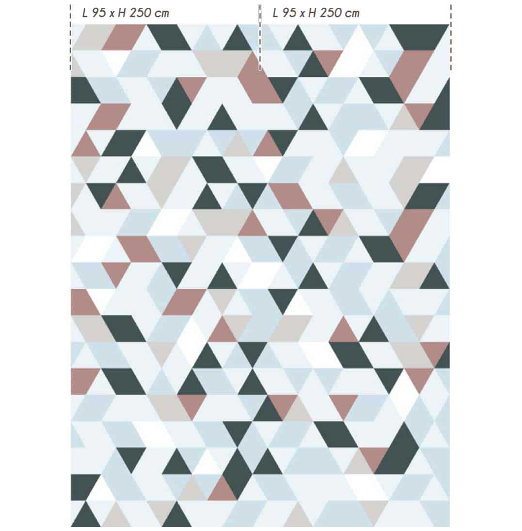 Collection de papier peint Multilés DL-TRIANGULA par LGD01