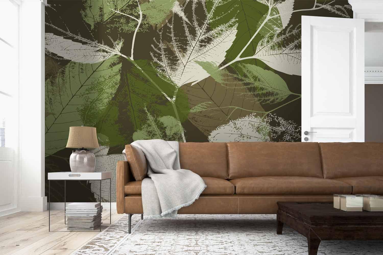 Collection de papier peint Multilés FEUILLU – Réf. FU1087 par LGD01