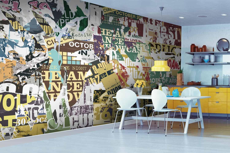 Collection de papier peint Multilés GRUNGE – Réf. GR2280 par LGD01