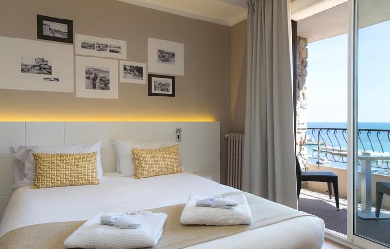 Papier peint sur mesure LGD01 Hôtel BEST WESTERN la corniche / Toulon