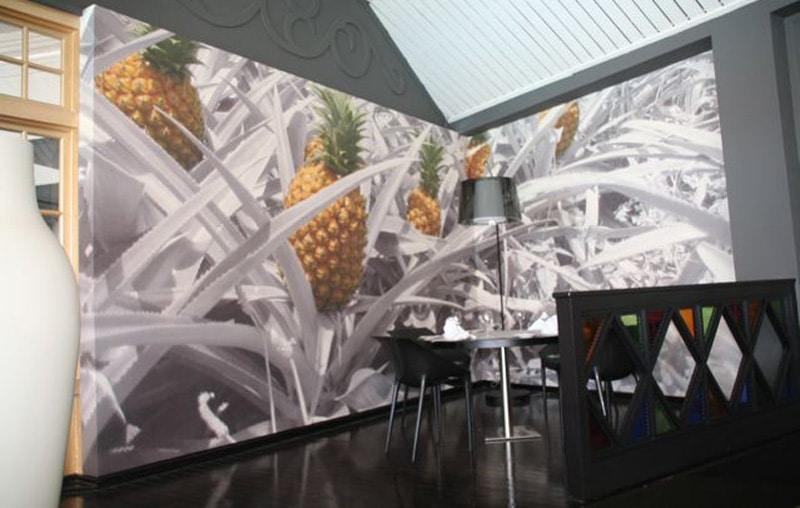 Papier peint sur mesure LGD01 Hôtel MERCURE Créolia / La Réunion