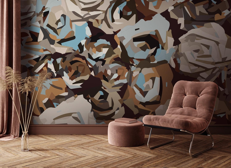 Collection de papier peint Multilés HUNA – Réf. HN1238 par LGD01