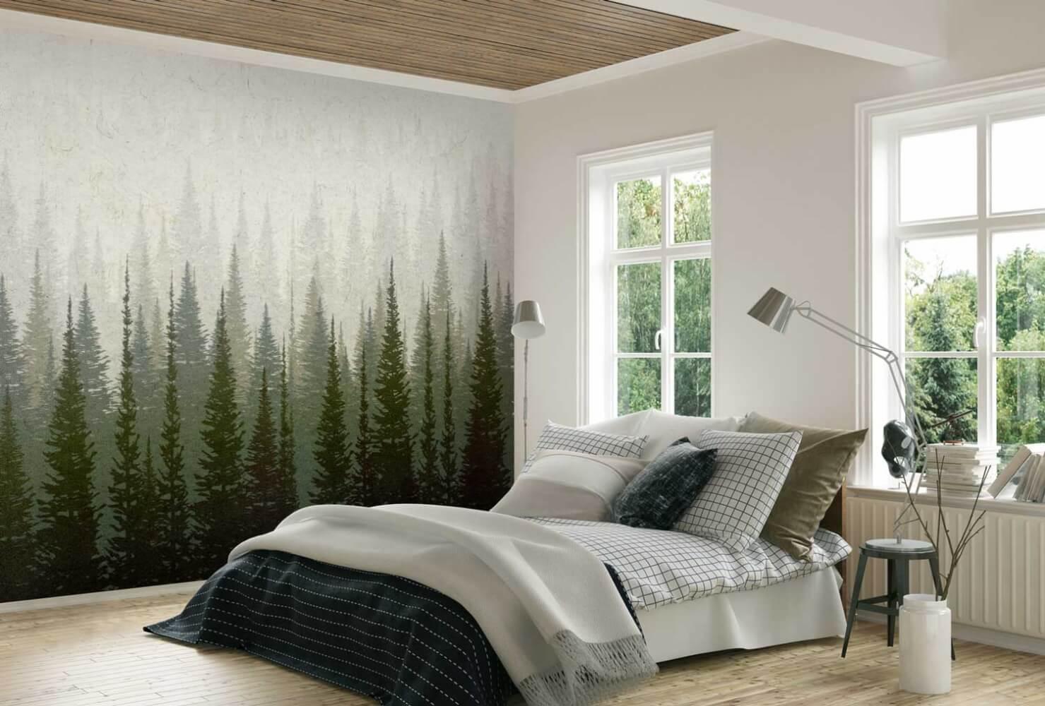 papier peint 100 lin naturel pour une d co saine et. Black Bedroom Furniture Sets. Home Design Ideas