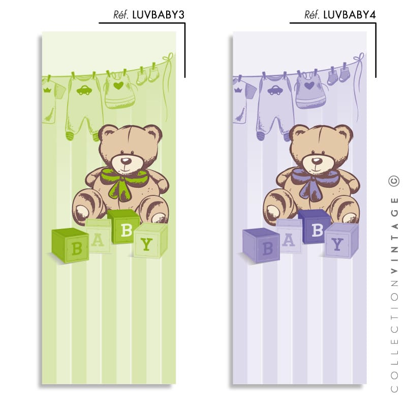Collection de papier peint Multilés VINTAGE – LUVBABY par LGD01