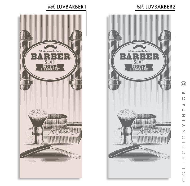 Collection de papier peint Multilés VINTAGE – LUVBARBER par LGD01