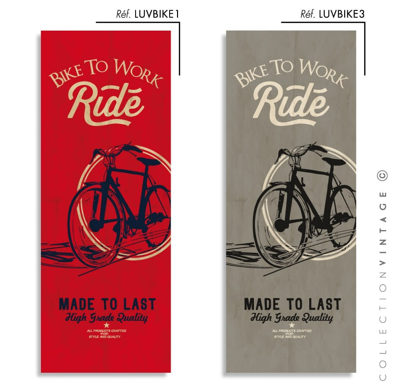 Collection de papier peint Multilés VINTAGE – LUVBIKE par LGD01