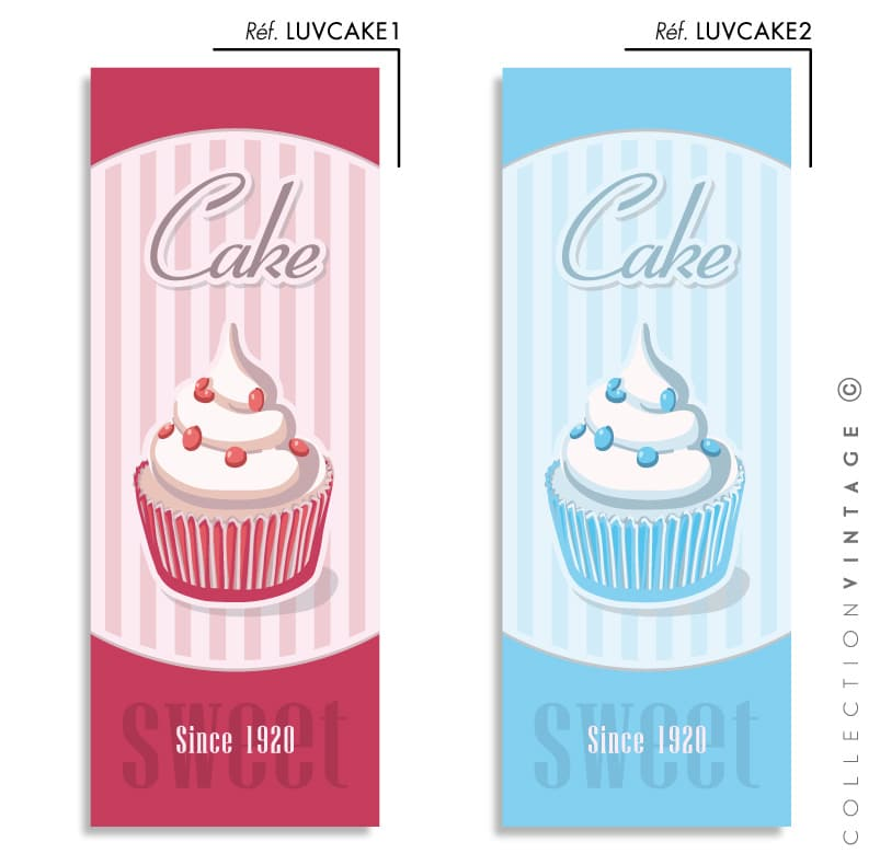 Collection de papier peint Multilés VINTAGE – LUVCAKE par LGD01