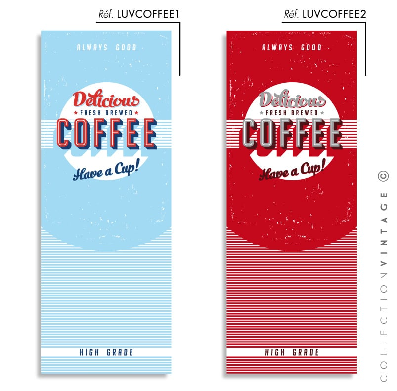 Collection de papier peint Multilés VINTAGE – LUVCOFFEE par LGD01