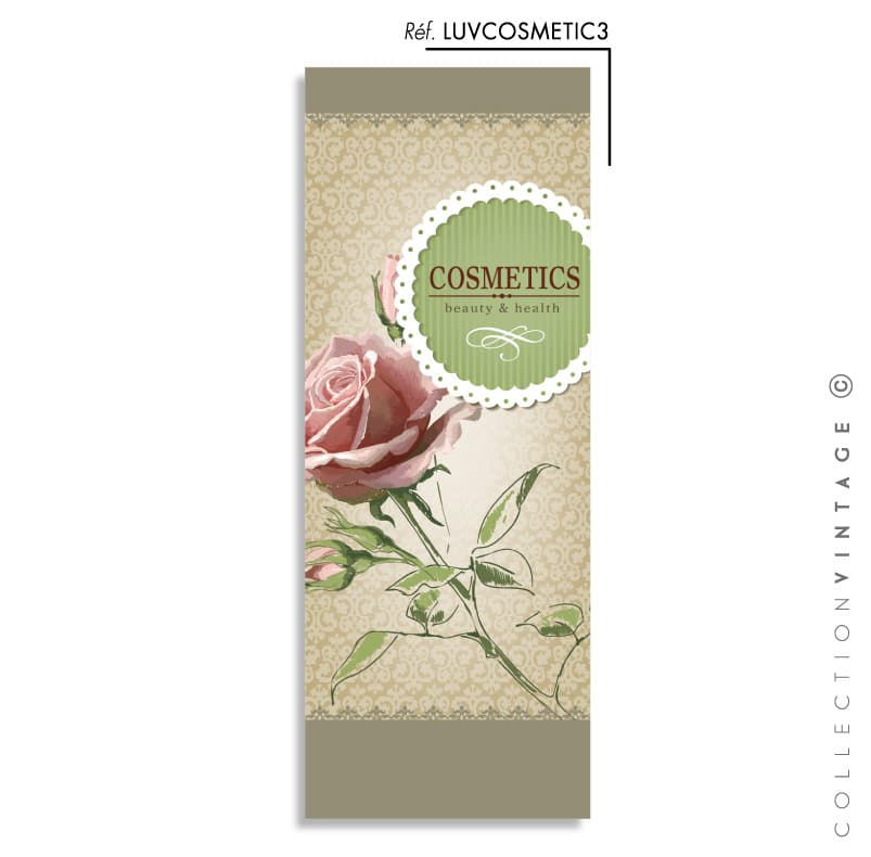 Collection de papier peint Multilés VINTAGE – LUVCOSMETIC par LGD01