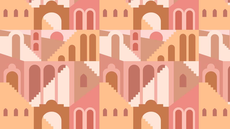 Collection de papier peint Multilés MEDINA – Réf. MD8702 par LGD01