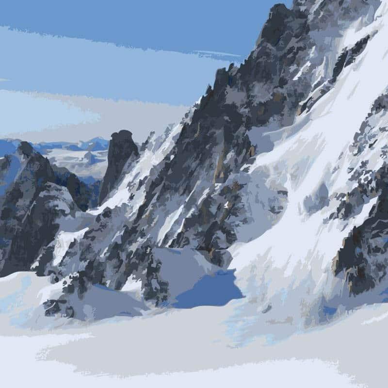 Collection de papier peint Multilés MT BLANC – Réf. MB0771 par LGD01