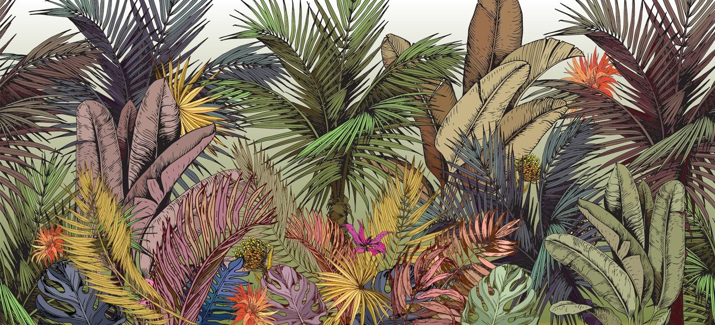 Collection de papier peint Multilés PALM COLOR – Réf. PC6241 par LGD01