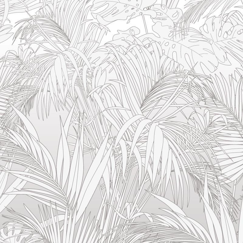 Collection de papier peint Multilés PALM NB – Réf. PL8203 par LGD01