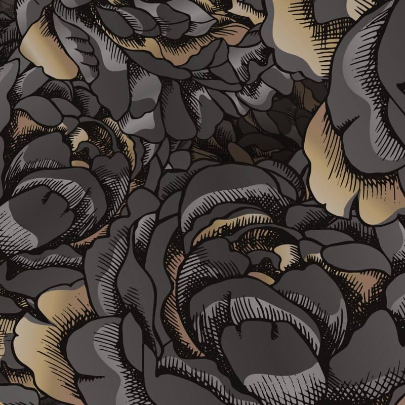 Collection de papier peint Multilés PIVOINE – PV8258 par LGD01